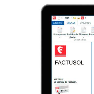 Apertura de ejercicio 2016 en Factusol